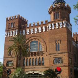 Outside Museu de Zoologia Barcelona Spain