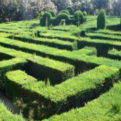 Parc Labyrint Horta-Guinardó Barcelona