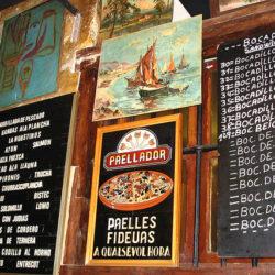 Tapas Bar Menu Barcelona