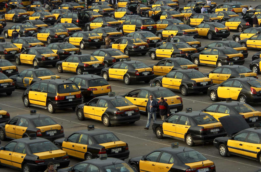 Taxi Barcelone Carte Bancaire.Prendre Le Taxi A Barcelone Barcelona Home Blog