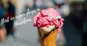 best ice cream shops in Barcelona