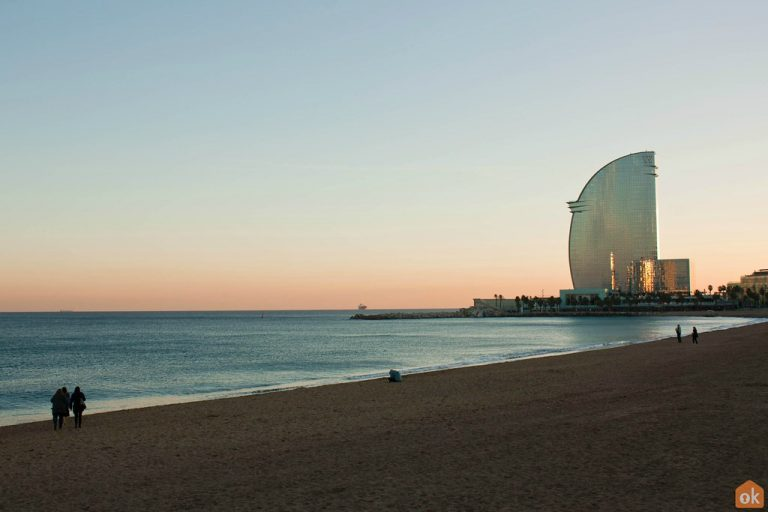 Running on the beach in Barcelona - Barcelona Home