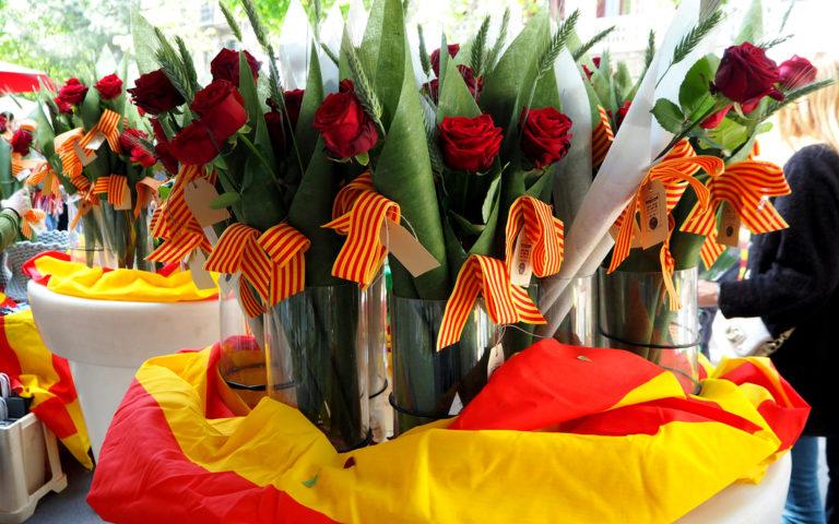 Barcelona Saint George's Day