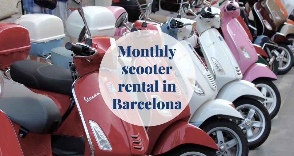 Monthly scooter rental in Barcelona Barcelona-Home