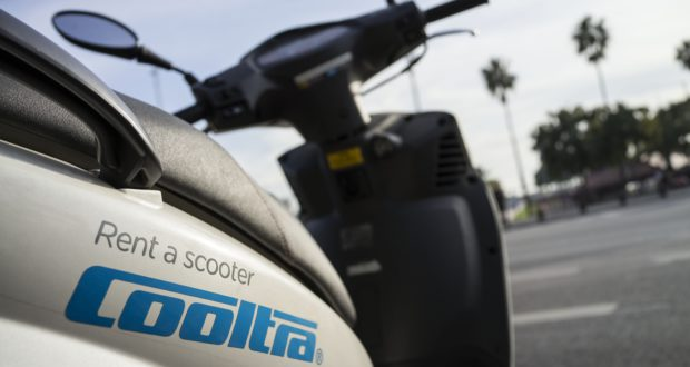 Scooter in affitto mensile a Barcellona