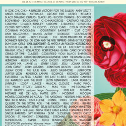 Primavera poster lineup