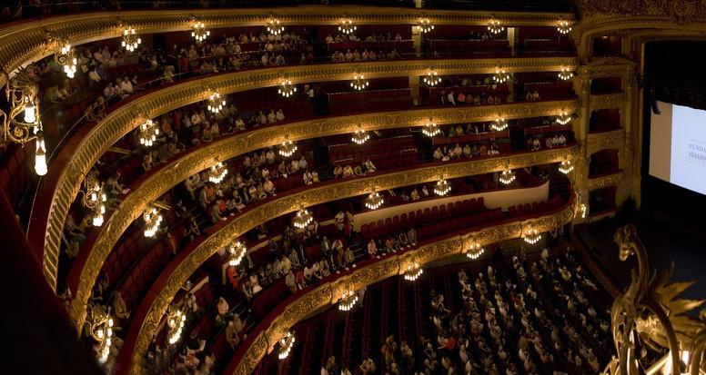 El Gran Teatre El Liceu; Barcelona-Home