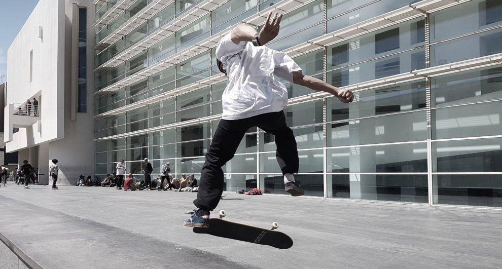 MACBA skater