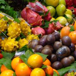 Mercados, una explosión de olores y colores