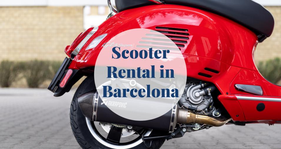Scooter Rental in Barcelona Barcelona-Home