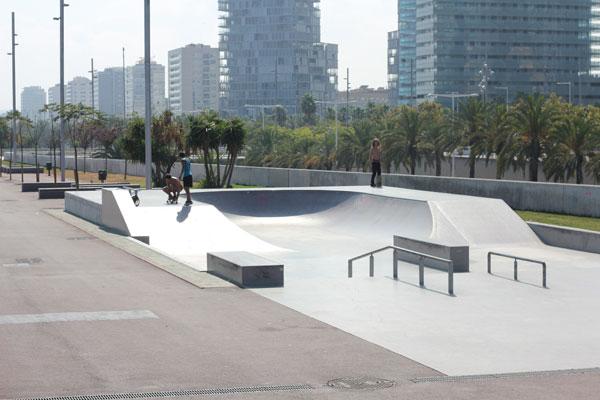 Forum skatepark Barcelona