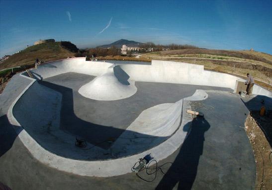 Pamplona skatepark barcelona