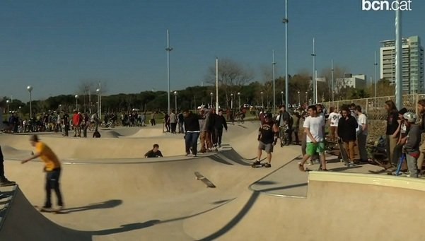 Skatepark Barcelona Mar Bella