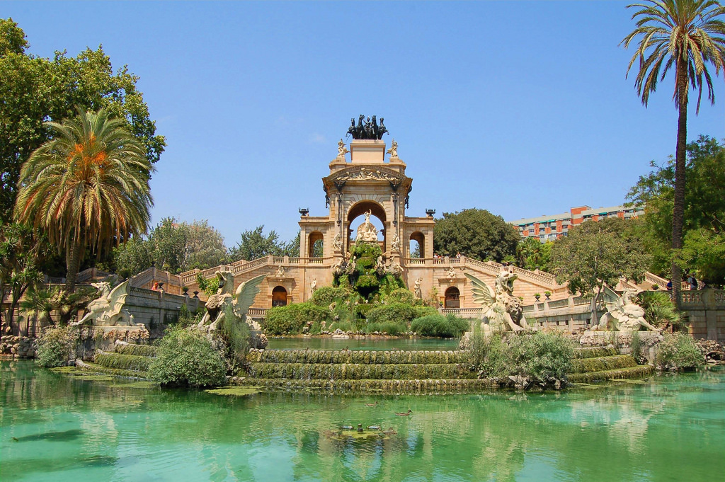 Romantic Places; Parc de la Ciutadella