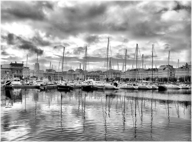 Puerto de La Coruña