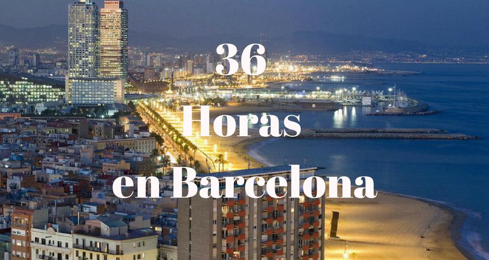 36 Horas en Barcelona