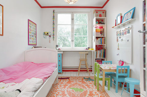 Ideas for decorating small rooms for children
