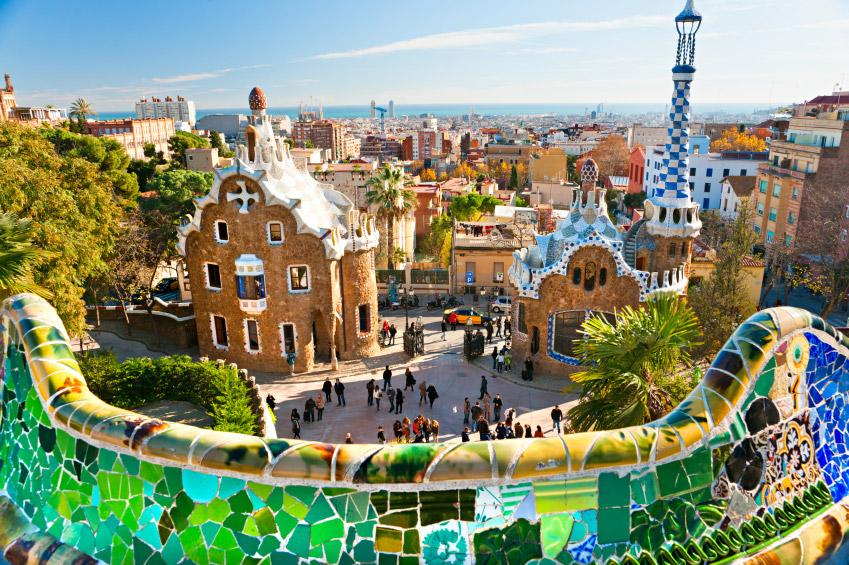 Best Parks Barcelona: Park Guell