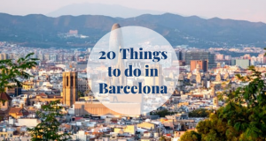 20 Things to Do in Barcelona Barcelona-Home