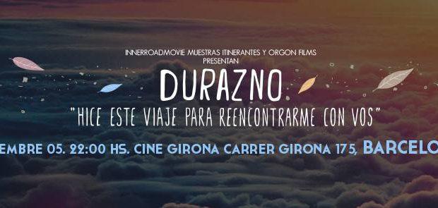 Durazno – premiere in Barcelona!