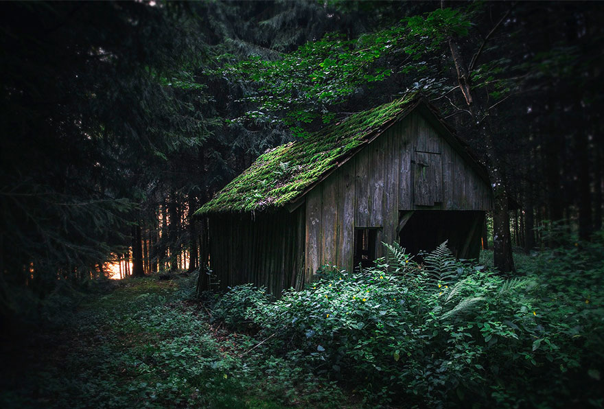 Abandoned Cottage, Alps, Germany