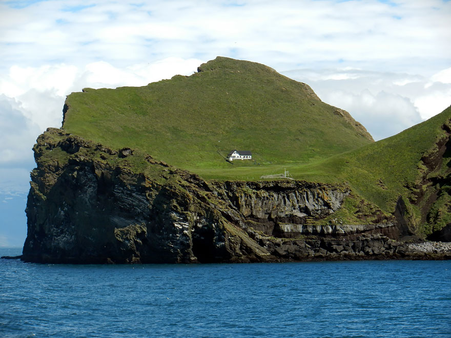 The lonely island home Elliðaey, Iceland.-4