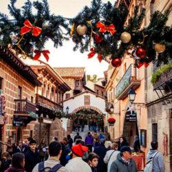 Christmas at Poble Espanyol