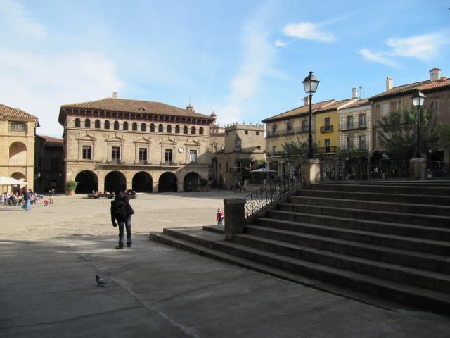 Plaza Mayor - Poble Espanyol