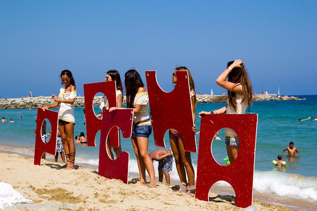 Barceloneta Beach Party