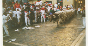 San Fermín - Bull run