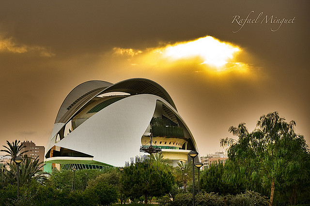 Valencia Palacio de Las Artes