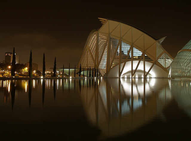 The Aliens have landed! – Ciudad de Las Artes y Las Ciencias in Valencia
