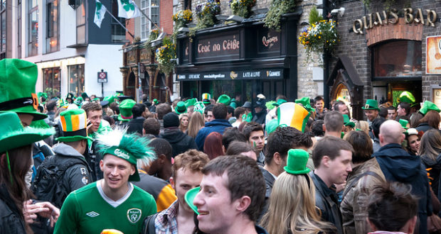 Saint Patricks Day in Barcelona