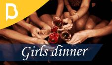 Girls dinner Barcelona-home
