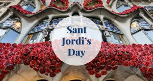 Sant Jordi's Day Barcelona-Home