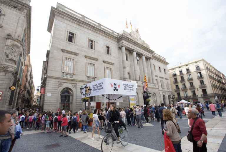 La fête de Sant Jordi en Catalogne - Barcelona Home