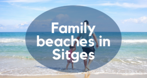 Family beaches in Sitges
