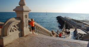 Family beaches Sitges