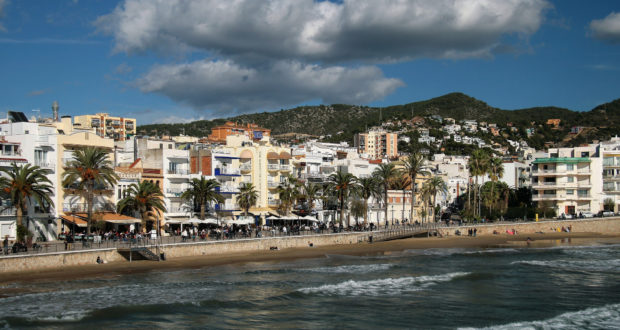Neighborhoods in Sitges