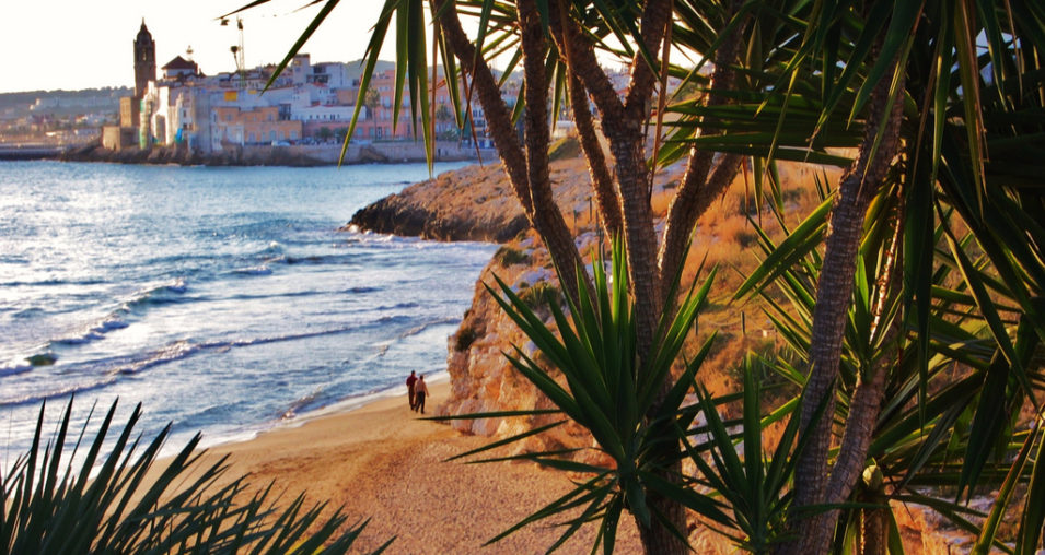 Nudist Beaches of Sitges