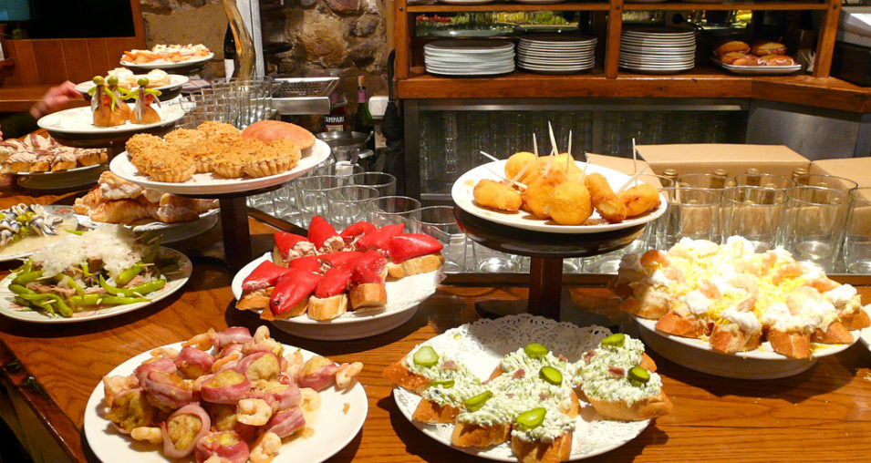Traditional food in sitges