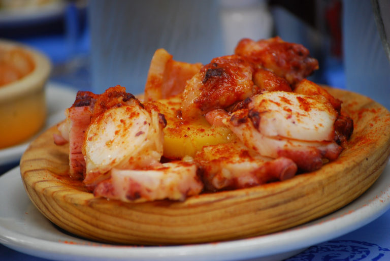 We agreed this was the most delicious pulpo we've ever had.