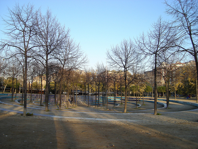 El Parc de l'Estació del Nord