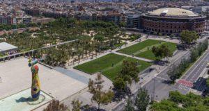 Parc Joan Miró, Barcelona, Spain.