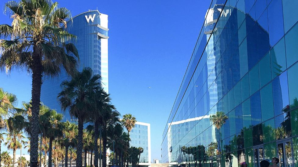 Het w hotel meer dan alleen een hotel barcelona home blog for Chambre fabulous w barcelone