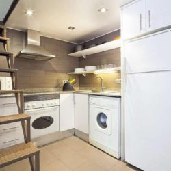 A modern kitchen, fully equipped