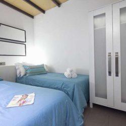 Cozy double bedroom with plenty of storage space