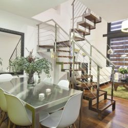 Duplex with Stairs