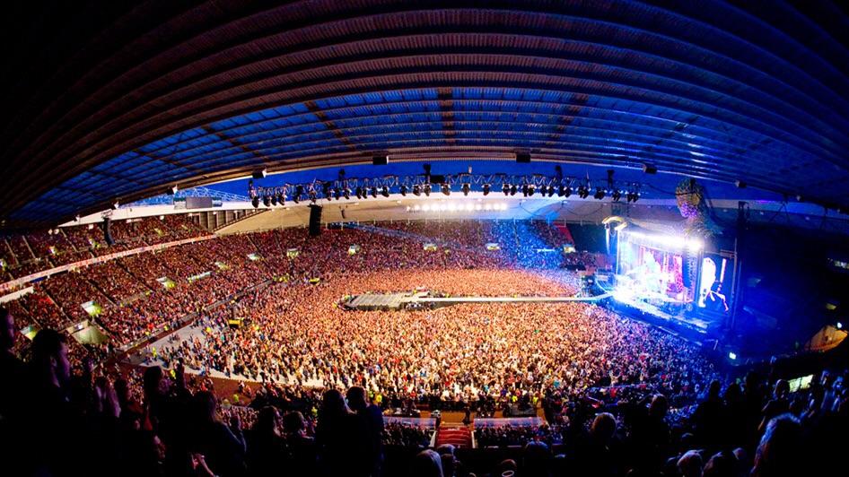 Foo Fighters concert 2015