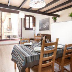 Dining Area Facing Balcony